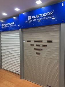Mẫu cửa cuốn austdoor chính hãng