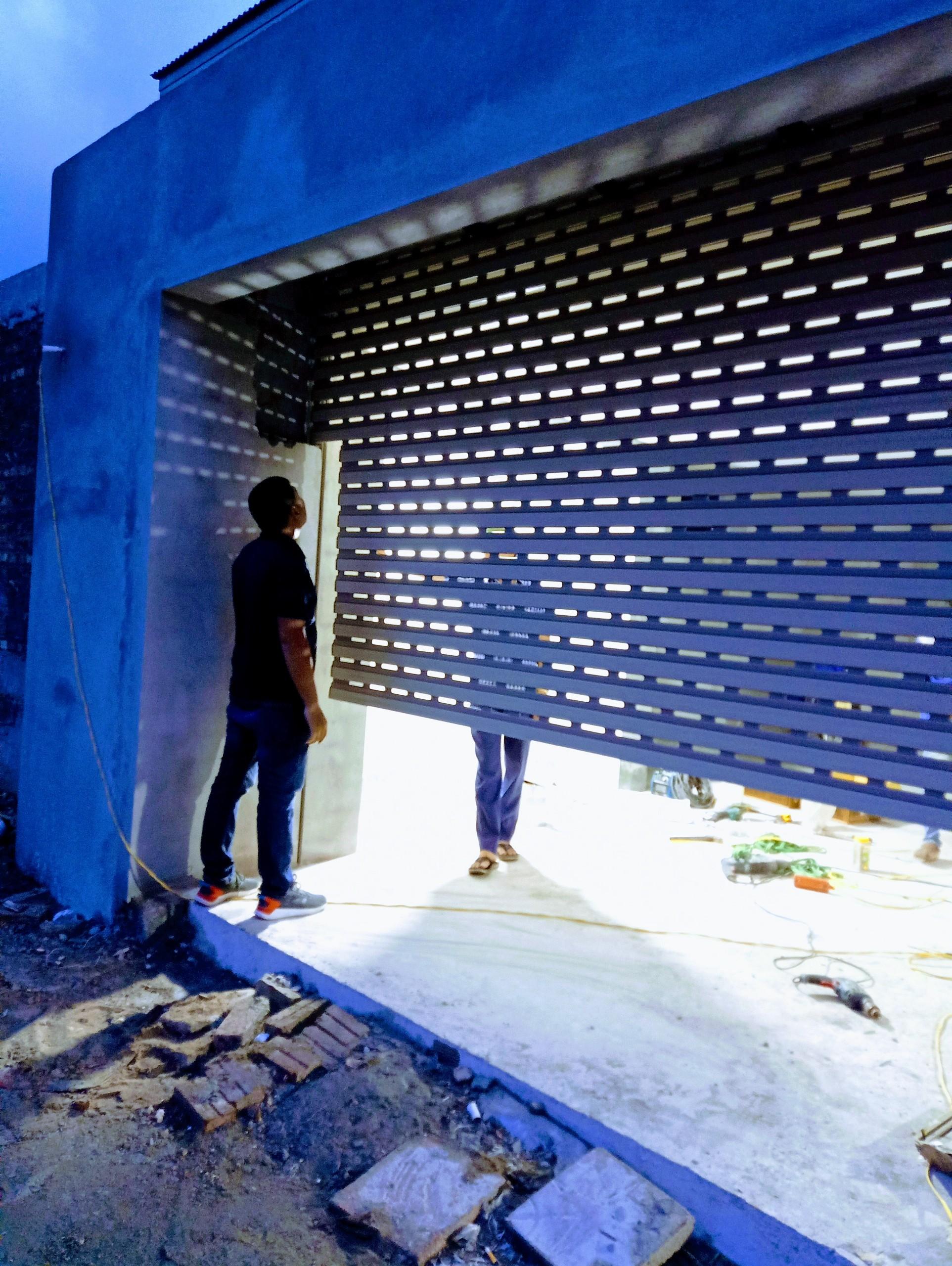 Lắp đặt cửa cuốn Austdoor siêu êm C70 tại Vĩnh Yên, vĩnh Phúc