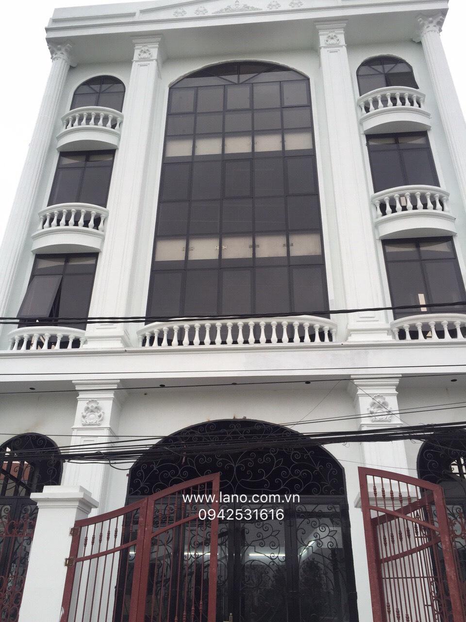 Hoàn thiện vách mặt dựng tại Long Biên Hà Nội