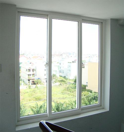 Cửa sổ mở trượt 3 cánh nhôm xingfa - công ty Lano