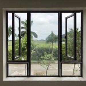 Cửa sổ mở quay 2 cánh - Công Ty Lano