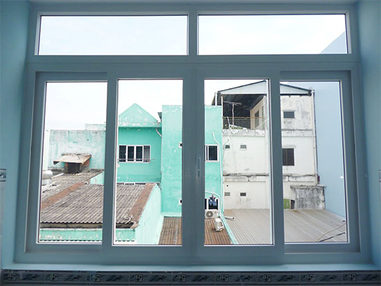 Cửa sổ 4 cánh mở trượt nhôm xingfa - Công Ty Lano