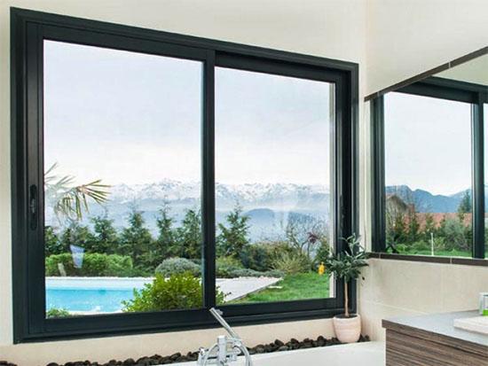 Cửa sổ lùa 2 cánh nhôm xingfa - Công Ty Lano