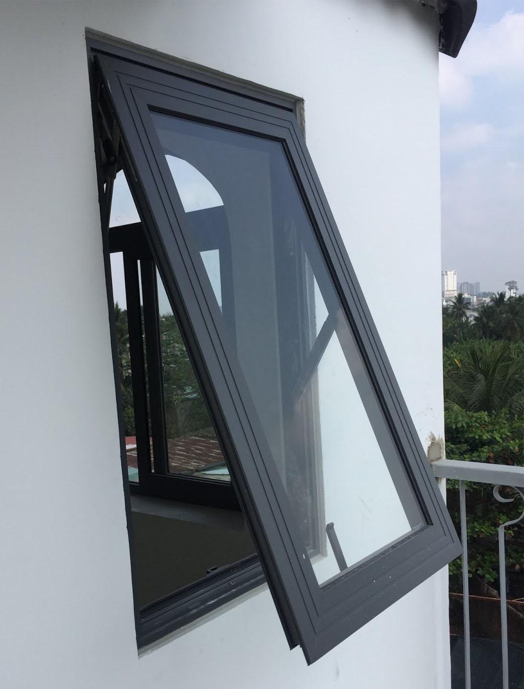 cửa sổ mở hất 1 cánh - công ty Lano