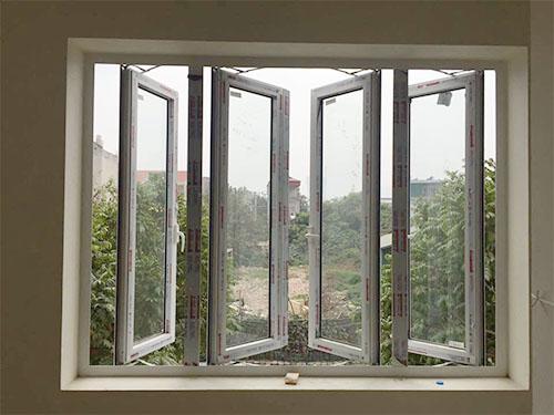 Cửa sổ mở quay 4 cánh - Công Ty Lano