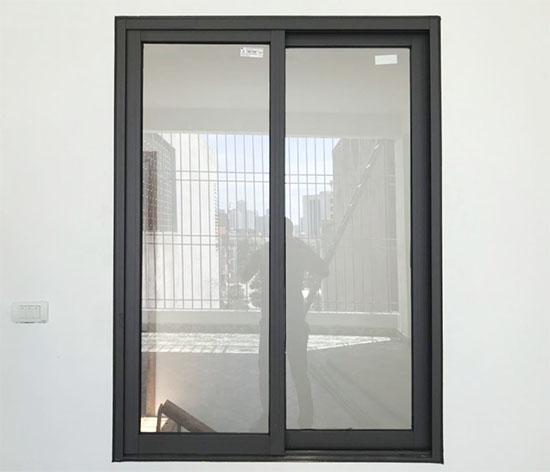 Cửa sổ mở trượt 2 cánh nhôm xingfa hệ 55 - Công Ty Lano