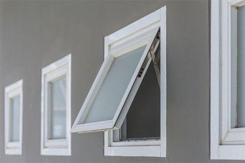 Mẫu cửa sổ 1 cánh nhôm xingfa sơn trắng - Công Ty Lano