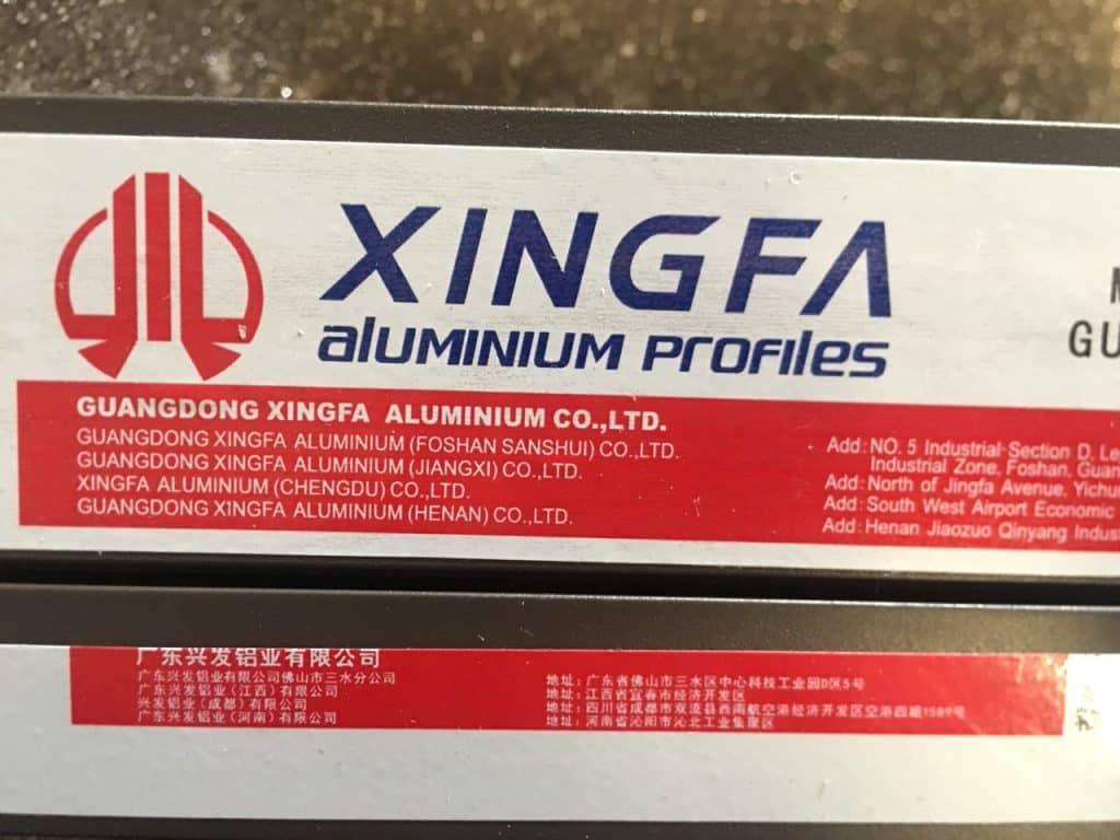 Mẫu tem mới nhất của nhôm Xingfa hệ 55 nhập khẩu