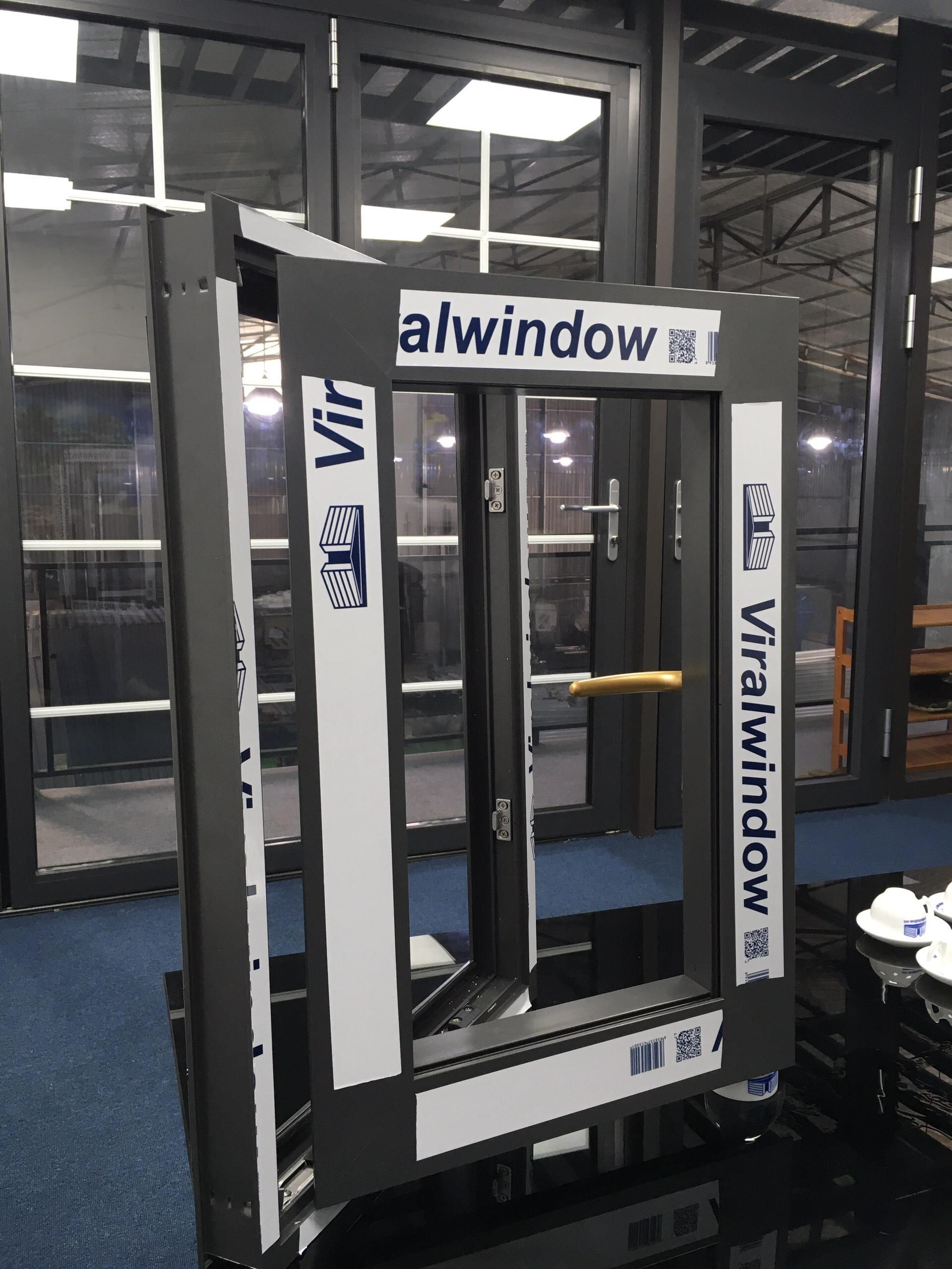 Mẫu cửa nhôm Viralwindow do LANO Group sản xuất