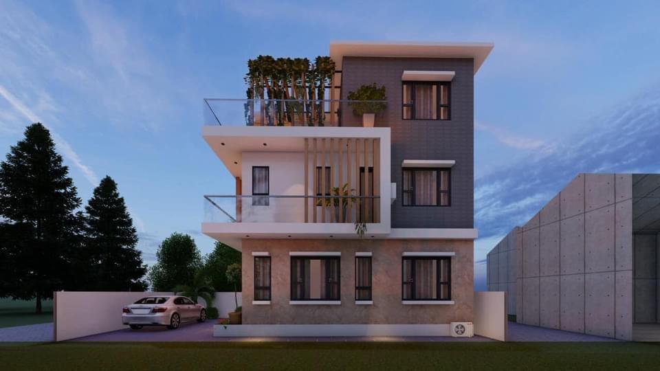Công Trình nhà Bác Hải Tại Sài Sơn, Quốc Oai, Hà Nội