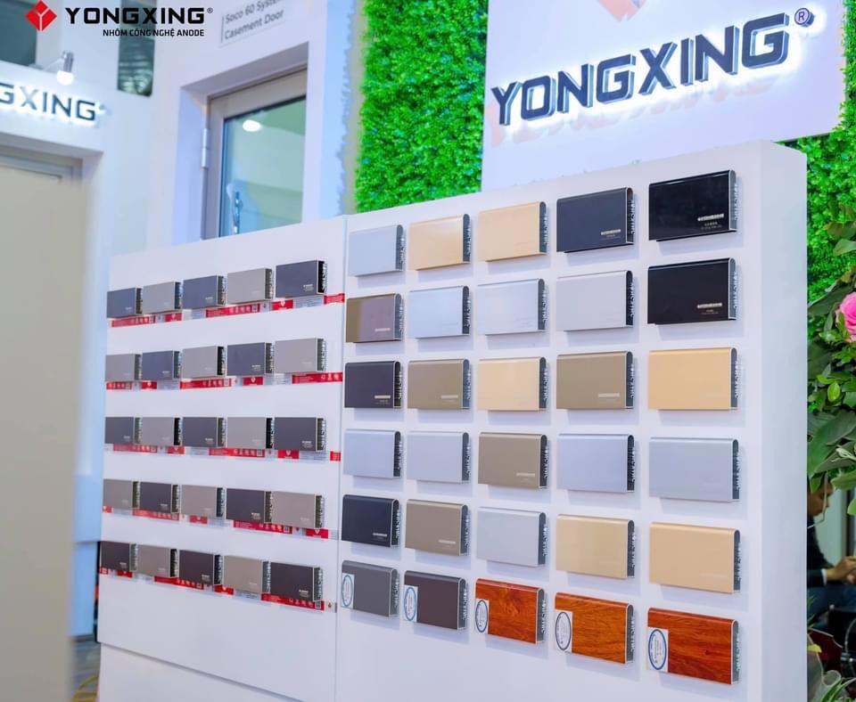 Nhôm yongxing đa dạng màu sắc