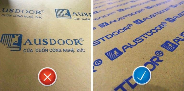 Quy cách đóng gói cửa cuốn Austdoor