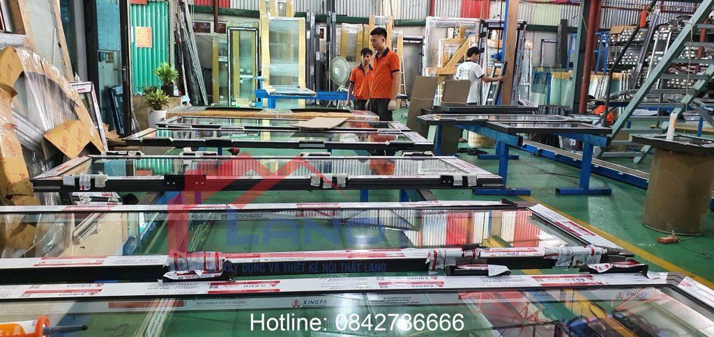 Nhà Máy Sản Xuất Cửa Nhôm PMI , Xingfa Nhập Khẩu chính hãng 100%